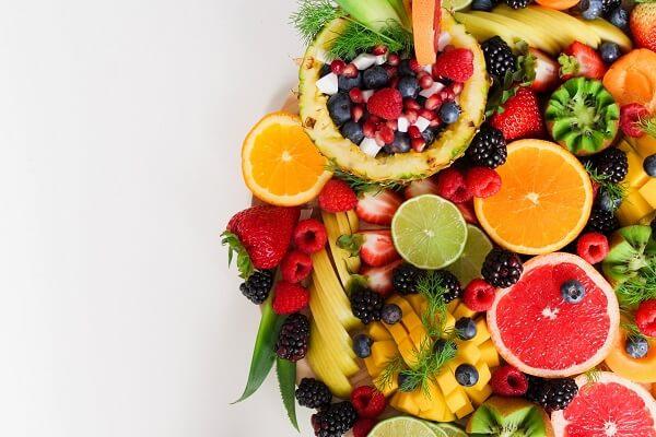 assorted sliced fruits